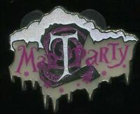 DLR Mad T Party 2012 Winter Logo LE Disney Pin 93481