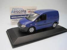 Volkswagen Caddy 2005 blue  - minichamps 1/43 cochesaescala