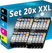 20x XXL TINTE PATRONEN für CANON PIXMA TS705 TS6250 TS6251 TS8252 TS 8352 Set