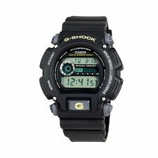 USED Casio DW-9052-1B G-Shock Digital BLACK Resin Watch 200M WR CLEAR LCD DW9052