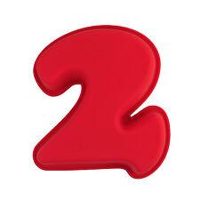 N° 2 x numeri a forma di silicone torta di compleanno STAMPO BAMBINI