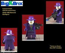 JOKER 1989 Movie Inspired DC Custom Printed LEGO & Custom Parts Minifigure