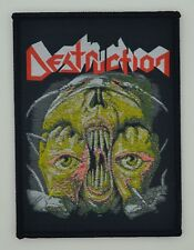 DESTRUCTION-RELEASE FROM AGONY-WOVEN PATCH-THRASH METAL