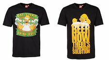 SIMPSONS OFFICIAL T-SHIRT FUN DUFF BEER BIER HOMER PARTY MOE BARNEY ALKOHOL SPAß