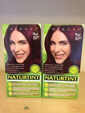 Naturtint Permanent Hair Colourant 2 Packs  X 165 Ml Mahogany Chestnut 4M