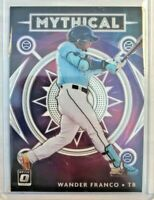 Wander Franco 🌟 2020 Donruss Optic Mythical Insert #M-7 Tampa Rays World Series