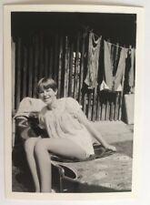 PHOTO ANCIENNE - VINTAGE SNAPSHOT - Prêtre Girl, Nuisette