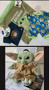 "Build-A-Bear The Child Star Wars The Mandalorian Baby Yoda 14""/ Voice/Bundle,NWT"