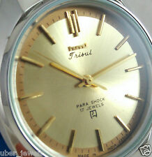 Rare HMT Trishul Yellow dial Mechanical watch,Collectible,Unused New-Old Stock