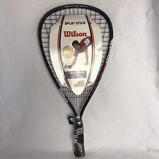 """Wilson All Gear Racquetball Set Fire XT 3-7/8"""" Racket Brand New"""