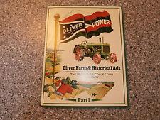 OLIVER POWER Book-Oliver Farm & Historical Ads-Part 1-Tim Putt-New-2014