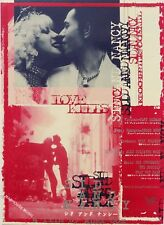 Sex Pistols SID & NANCY Japanese PROMO ONLY 2-Sided Flyer The Pogues MINT
