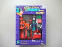 The Adventures of Gumby and Friends RACER PLAYSET  Trendmasters 1995 NIP