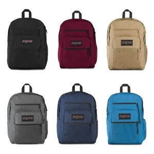 New Authentic Jansport Big Campus School Laptop Bag Backpack 34L All Colors NWT