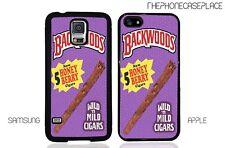 Backwoods Cigar Blunt Wraps Phone Case for Apple iPhone, LG, Google, Samsung