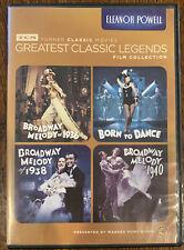 TCM Greatest Classic Legends ELEANOR POWELL 4 DVD set