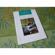 Renault Scénic, accesorios y el equipo, catálogo folleto folleto