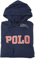 NEW $59 Polo Ralph Lauren Hoodie Navy Blue Long Sleeve Hooded Tee Shirt Mens NWT
