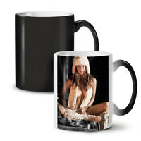 Nude Woman Hot Girl Sexy NEW Colour Changing Tea Coffee Mug 11 oz | Wellcoda