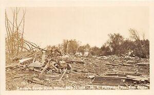 H70/ Castle Rock Minnesota RPPC Postcard c20 Tornado Disaster M.E. Church 78