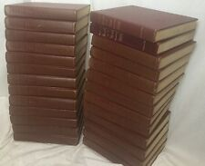 Encyclopedia Britannica 1949 Almost Complete Set & Book Year 26 Leather Lot