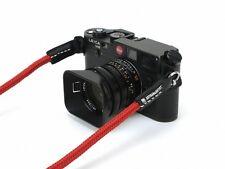 Artisan & artist kamara cinturón armazón correa seda rojo red acam 301 n F. Leica