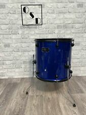 """More details for g4m blue floor tom drum 16""""x 16"""" / with legs / new"""