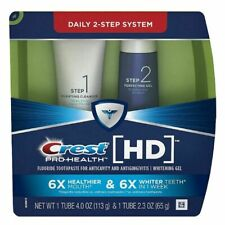 2 x Crest Pro-Health HD Daily Two-Step Toothpaste System Exp 1/2020
