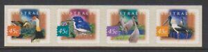 Australia - 1997, Fauna & Flora, 2nd series set - Perf 11 - Adhesive - SG 1631/4