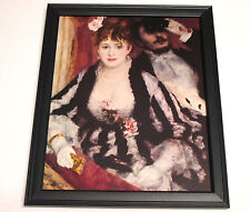 RENOIR 1952 UNFRAMED LITHOGRAPH PLATE PRINT, 'THE LOGE'