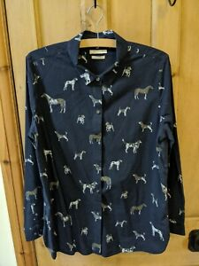 Barbour Relaxed Fit Dogs and Horses Shirt