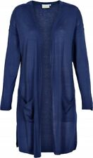 KAFFE - 550523 Lange Strickjacke  - Cardigan / BLUE DEPTHS  38 - M (L)