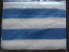 10 X16' White blue Shade Net Mesh Screen Garden Patio RV Nursery Canopy Sun Tarp