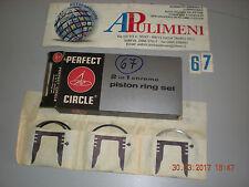 43003 SERIE FASCE PISTONI (RINGS) FIAT 127-RUSTICA-SPORT-RITMO 60L ø76 + 0,4mm