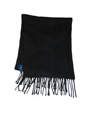 Black Fleece Scarf Croft And Barrow New Acrylic