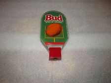 Budweiser Beer Tap Handle Football Bud King of Beers Acrylic