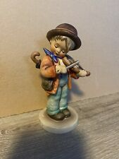 "Vintage Hummel Goebel Figurine 4 Little Fiddler 5"" Tmk3 Boy&Violin Stylized Bee"