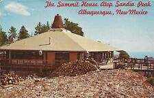 Summit House Restaurant-Albuquerque New Mexico-Sandia Mountains-Rio Grand Valley