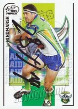 ✺Signed✺ 2005 CANBERRA RAIDERS NRL Card IAN HINDMARSH