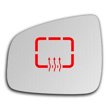 Left Side Clip On Heated Mirror Glass for Dacia Sandero 2007 - 2019 0364LSHP