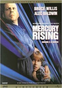 Brand New DVD Mercury Rising Bruce Willis Alec Baldwin Miko Hughes