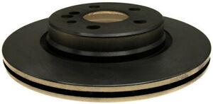 Disc Brake Rotor-Non-Coated Rear ACDelco 18A610A