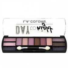 L.A. Colors Makeup Long Lasting Day to Night Eyeshadow Palette CES424 Dusk