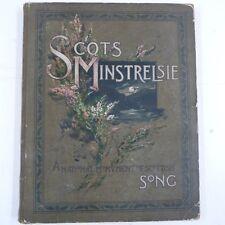 folk SCOTS MINSTRELSIE Vol 3 a national monument of scottish song, John Greig
