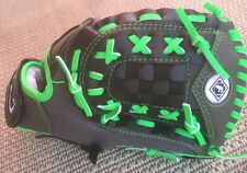 "Franklin Youth Softball Glove 11""  Grey/Lime 22317 Lightweight Mesh Shell New"