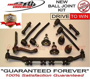 LIFETIME Ball Joint Tie Rod Center Link Kit for Malibu Regal Monte Carlo 78-88
