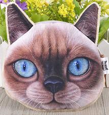SIAMESE CAT KITTEN Burmese New COIN PURSE Gift, UK Sale