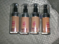 NEW  MEMEME  HYDRATING FOUNDATION WITH MOIST 24, 4 SHADES