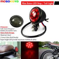 Motorcycle Round 12V Rear Tail Light Lamp For Harley Chopper Bobber Cafe Racer