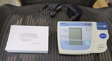 OMRON HEM-705CP AUTOMATIC BLOOD PRESSURE MONITOR W/ NEW A/C ADAPTER & SMALL CUFF